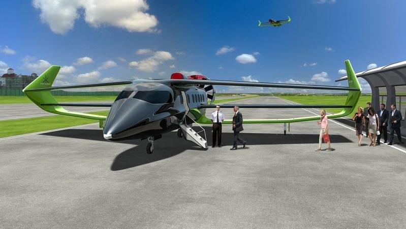 Projekt elektrycznego samolotu /materiały prasowe