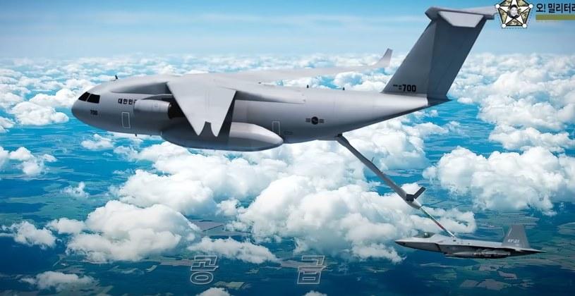 Projekt nowego koreańskiego samolotu /YouTube