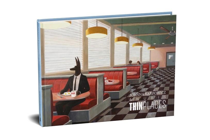Projekt okładki albumu Anubis. Thin Places /materiały prasowe