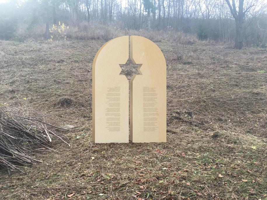 Projekt pomnika /fot. archiwum prywatne Dariusza Popieli /