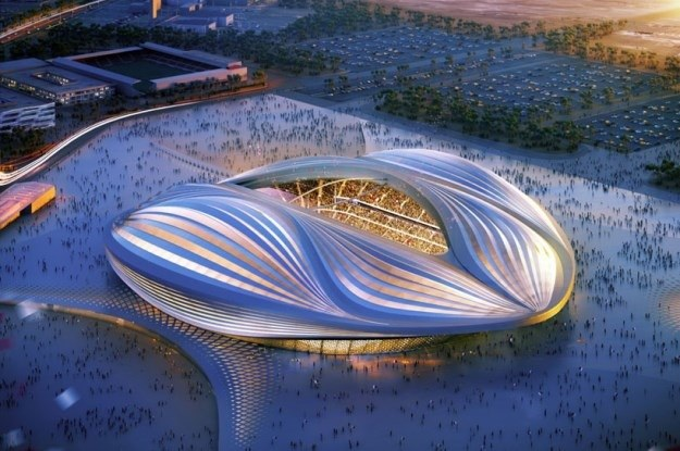 Projekt stadionu Al Wakrah /materiały prasowe