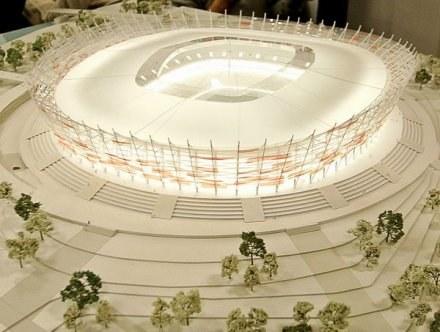 Projekt Stadionu Narodowego /AFP