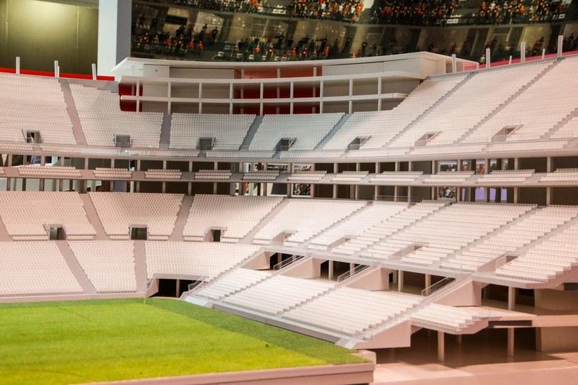 Projekt stadionu w Brukseli /AFP