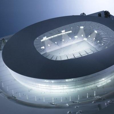Projekt stadionu we Wrocławiu /Informacja prasowa