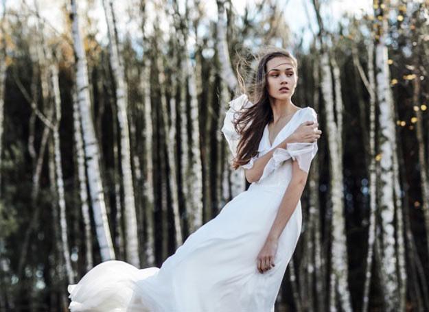 Projekt sukni ślubnej ANEMOI /materiały prasowe /Szymon Brzoska/ materiały prasowe /materiały prasowe