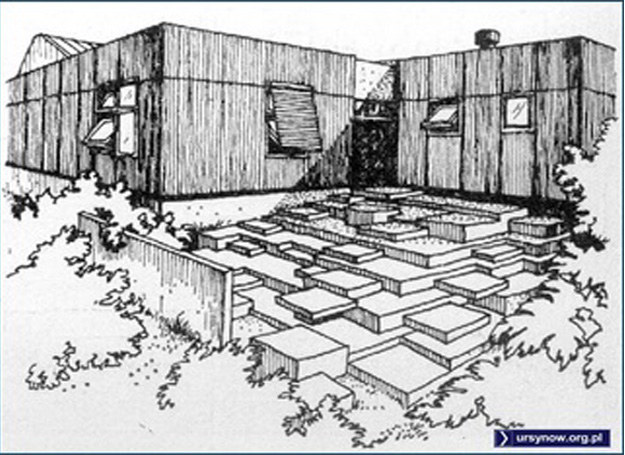 """Projekt szkoły na Ursynowie - Rysunek zamieszczony w czasopiśmie """"Architektura"""" z 1975 roku /Printscreen ursynów.org /INTERIA.PL"""