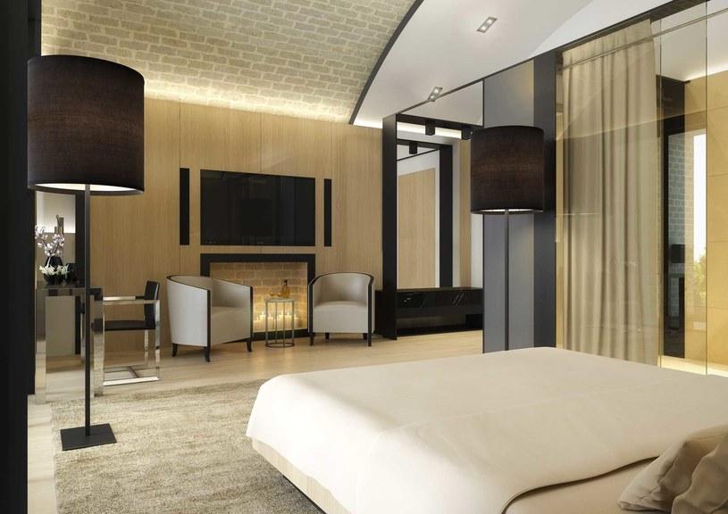 Projekt wnętrza pokoju hotelowego /Styl.pl/materiały prasowe