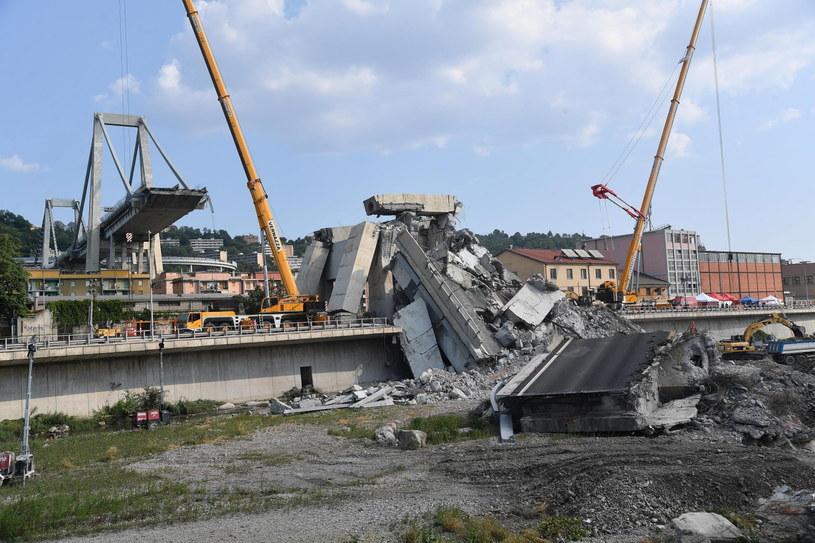 Projektant mostu w 1979 roku przestrzegał przed korozją /LUCA ZENNARO /PAP/EPA