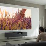 Projektor CineBeam Laser 4K - 5 cm od ściany i 90 cali obrazu