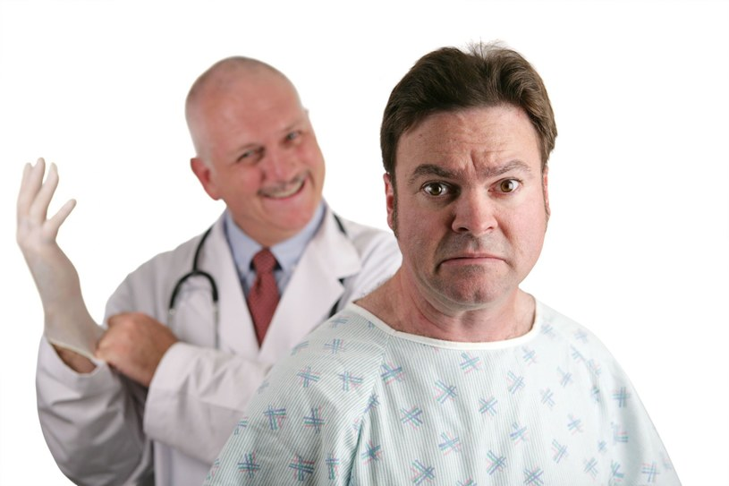 Proktolog jest na jednym z czołowych miejsc wśród najbardziej znienawidzonych lekarzy. Biopsja może zmienić ten wizerunek /123RF/PICSEL