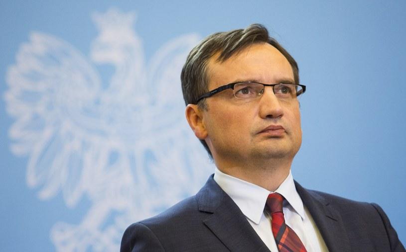 Prokurator generalny i minister sprawiedliwości Zbigniew Ziobro /Andrzej  Hulimka /Reporter