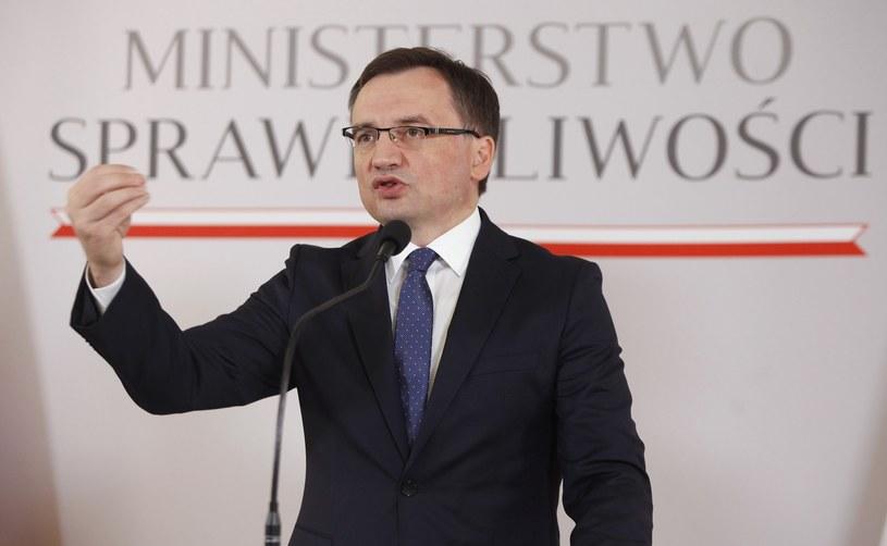 Prokurator Generalny i minister sprawiedliwości Zbigniew Ziobro /Stefan Maszewski /Reporter