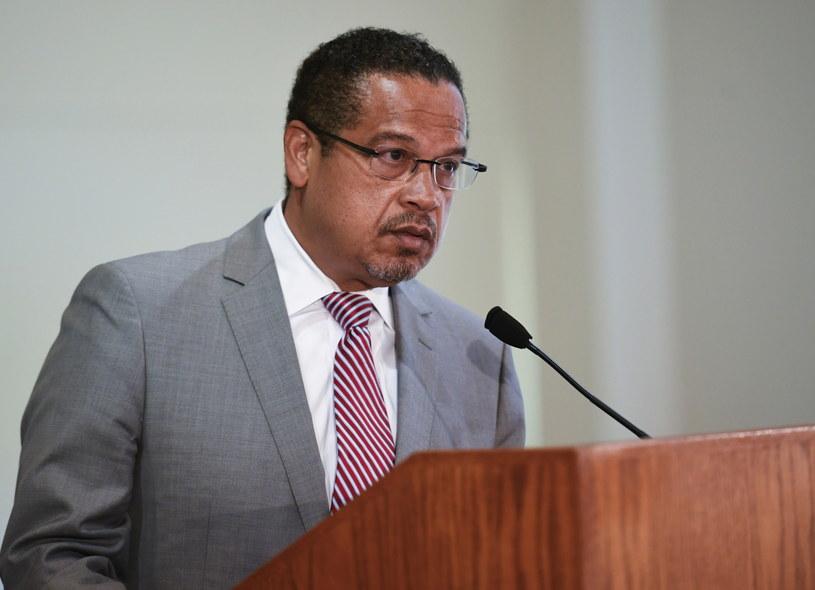 Prokurator generalny Minnesoty Keith Ellison /Craig Lassig /PAP/EPA