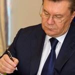 Prokurator: Janukowycz podejrzany o przewrót konstytucyjny