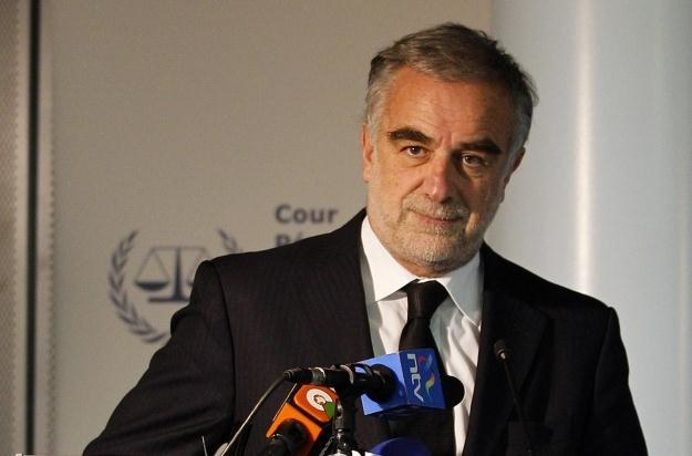 Prokurator Luis Moreno-Ocampo /AFP