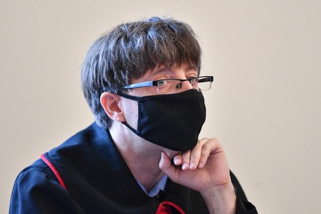 Prokurator Mariusz Skwierawski /Adam Warżawa /PAP