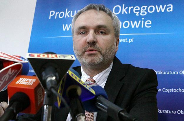 Prokurator Tomasz Ozimek, fot. Waldemar Deska /PAP
