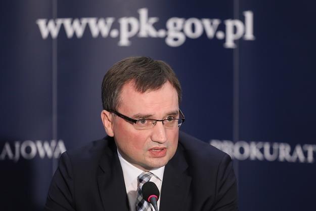 Prokuratorzy konfiskują majątki. Na zdjęciu Zbigniew Ziobro /PAP