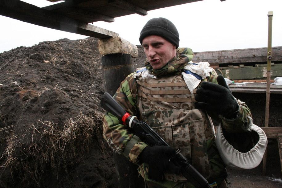 Prokuratura wojskowa zajmie się nieludzkimi warunkami na poligonie na Ukrainie. Zdjęcie ilustracyjne /Friedemann Kohler    /PAP/EPA