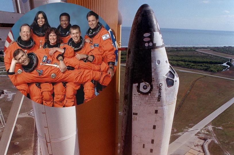 Prom Columbia uległ zniszczeniu 1 lutego 2003 roku, podczas powrotu z przestrzeni kosmicznej. Przyczyną było uszkodzenie osłony termicznej na krawędzi natarcia lewego skrzydła. Siedmiu członków załogi zginęło na miejscu /materiały prasowe