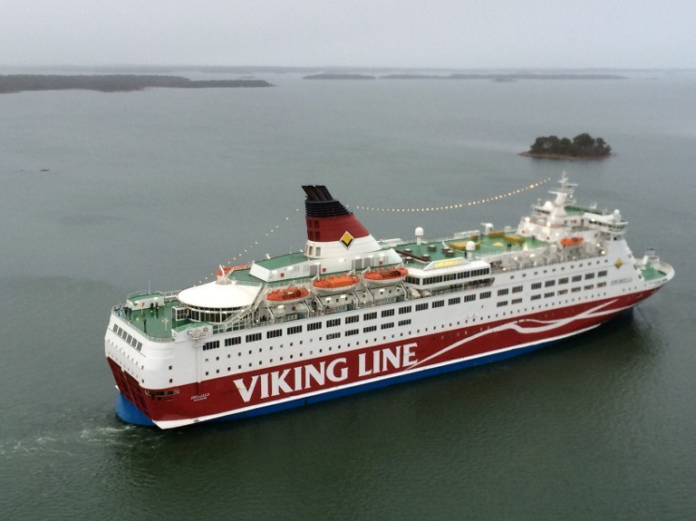 "Prom Viking Line ""Amorella"" /AFP"