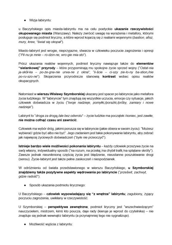 Proponowane odpowiedzi do matury z języka polskiego /INTERIA.PL