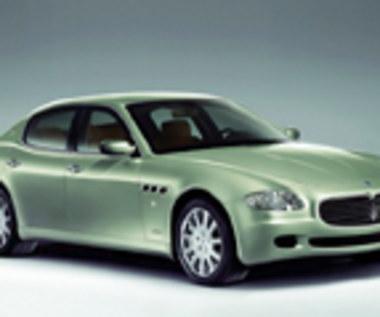 Proporczyk na Maserati