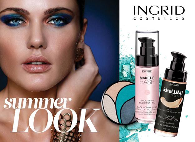 Propozycja letniego makijażu od  INGRID /materiały prasowe