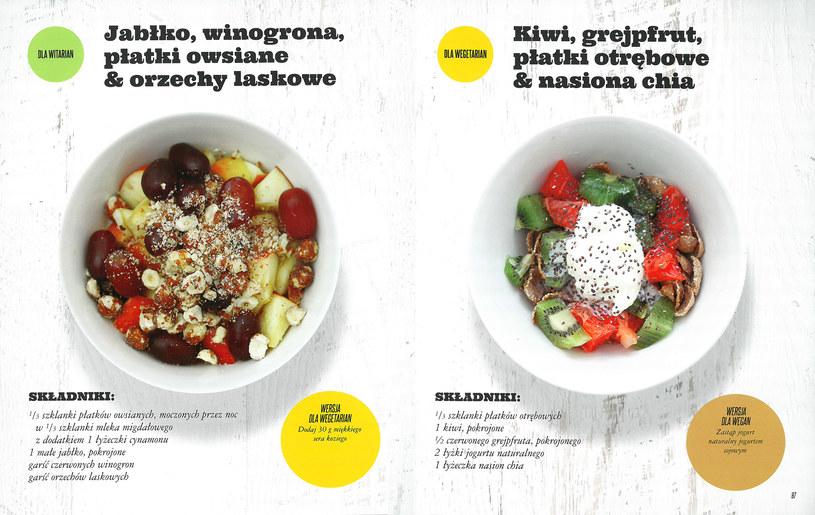 Propozycje śniadań dla wegan i witarian /materiały prasowe