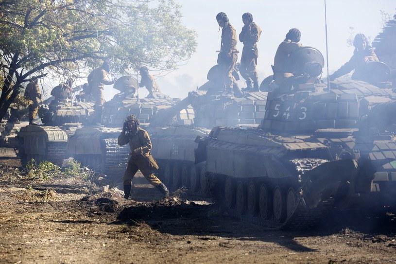 Prorosyjscy separatyści na wschodzie Ukrainy / zdj. ilustracyjne /Getty Images