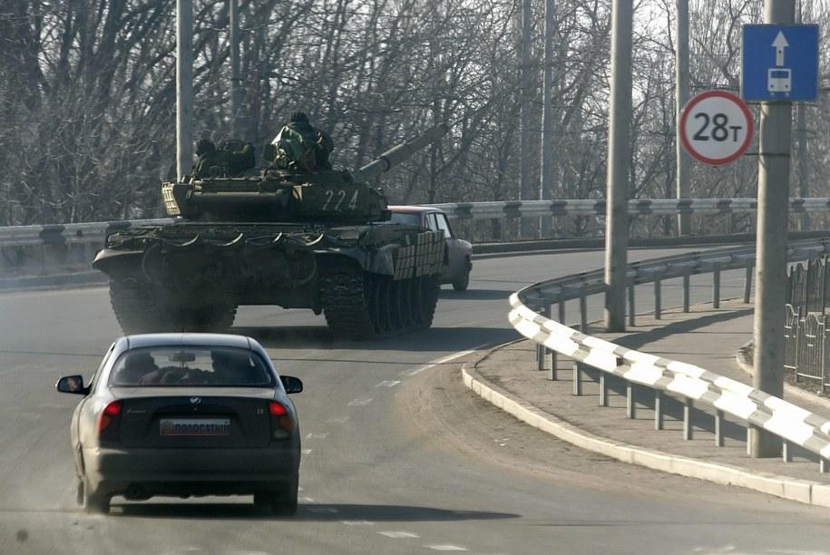Prorosyjscy separatyści w Doniecku /ALEXANDER ERMOCHENKO /PAP/EPA