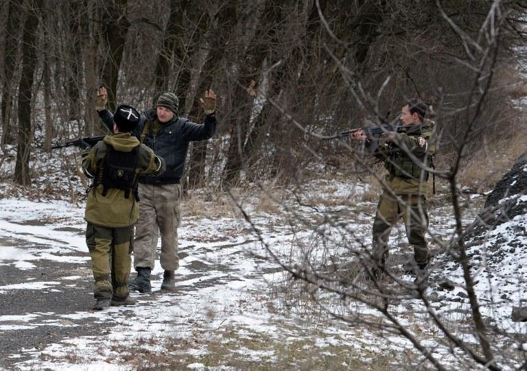 Prorosyjscy separatyści, zdj. ilustracyjne /AFP