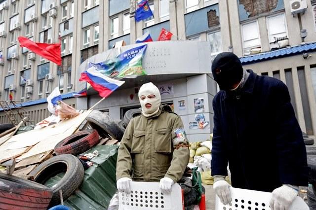 Prorosyjscy separatyści /ANASTASIA VLASOVA /PAP/EPA