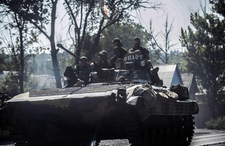 Prorosyjscy separatyści /AFP