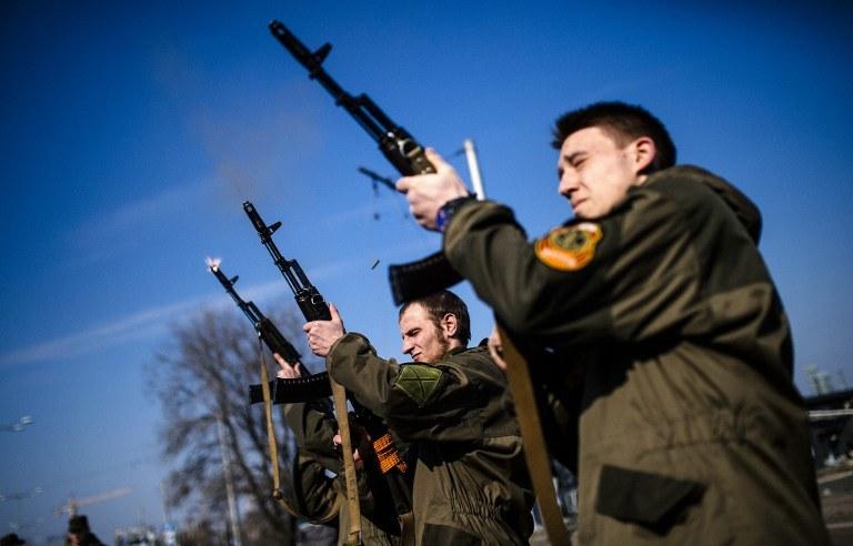 Prorosyjscy separatyści /DIMITAR DILKOFF /AFP