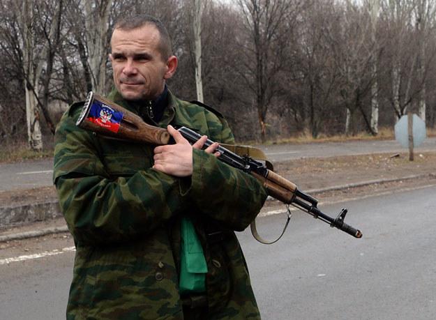 Prorosyjski separatysta fot. Vasily Maximov /AFP