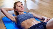 Proste ćwiczenia na jędrny brzuch