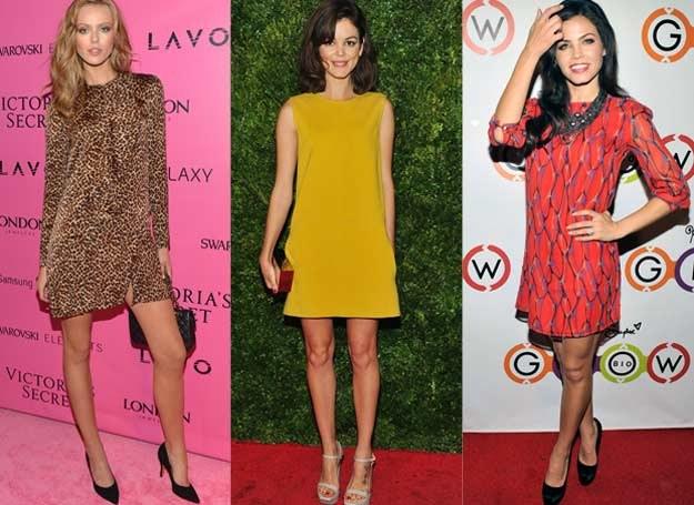 Proste sukienki mają dziewczęcy urok /Getty Images/Flash Press Media