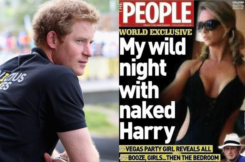 Prostyturka Carrie Reichert ma zamiar opisać jej spotkania z Harrym w swojej książce! /- /Getty Images