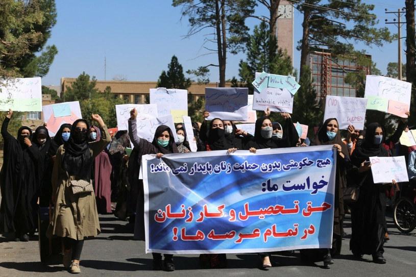 Protest Afganek w Heracie /AA/ABACA/Abaca /East News