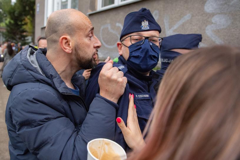Protest antymaseczkowców w Gdańsku /Piotr Hukało /East News