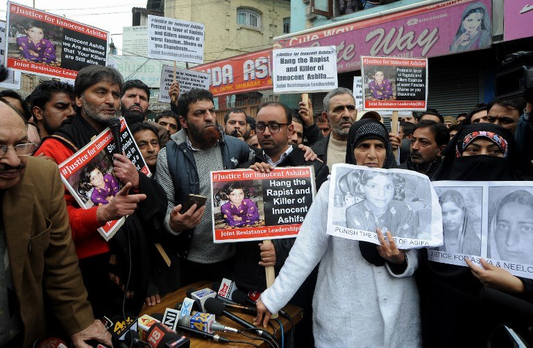 Protest domagających się kary śmierci w sprawie gwałtu i zabójstwa dziewczynki; Zdj. ilustracyjne /AFP