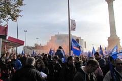 Protest francuskich policjantów