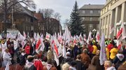 Protest górniczych emerytów. Walczą o deputat węglowy
