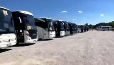 Protest kierowców autokarów turystycznych: Nie mamy z czego żyć