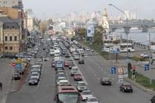 0007QG90H1N851RQ-C307 Protest kierowców na Ukrainie. Nie chcą płacić cła