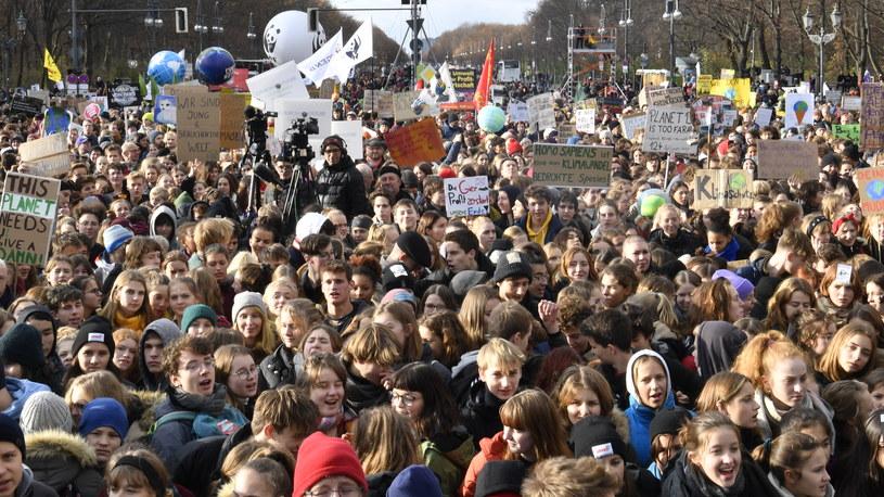 Protest klimatyczny w Berlinie /AFP
