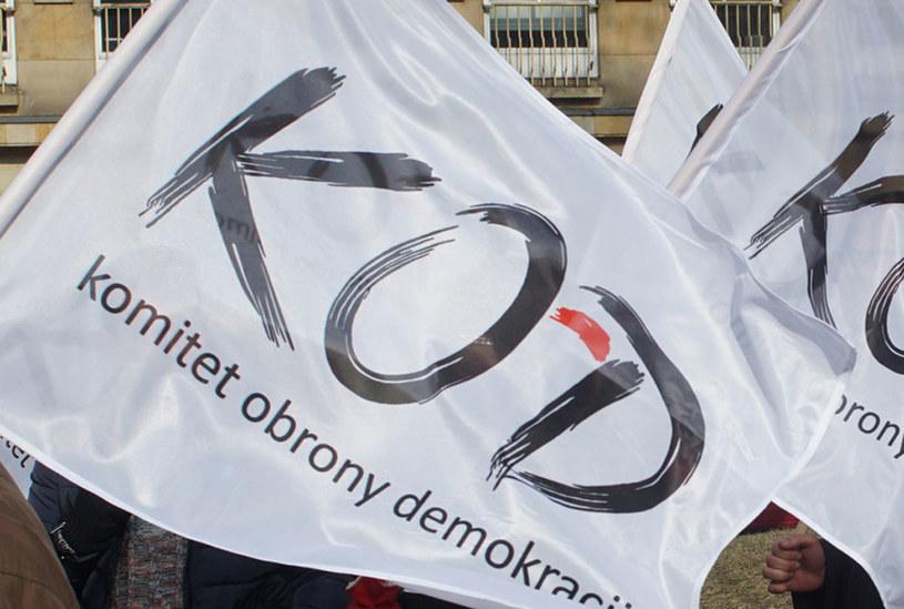 """Protest KOD przeciwko """"politycznemu wykorzystywaniu policji"""" /WALDEMAR WYELGALSKI/POLSKAPRESSE /East News"""