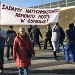 """Protest mieszkańców Wierzchosławic. """"Mamy żal do władz"""""""