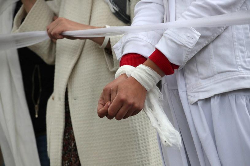 Protest na Białorusi, zdj. ilustracyjne /TATYANA ZENKOVICH  /PAP/EPA